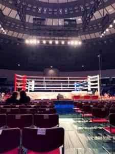 ボクシング世界フライ級タイトルマッチをもろに観戦する件