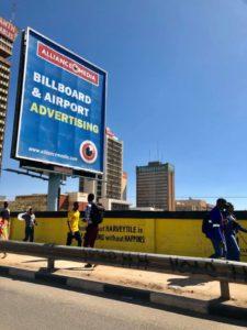 ザンビアの首都ルサカの写真をアップする件