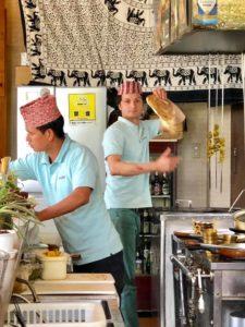 ネパールの料理をランチに頂く件