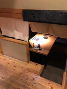 床面積を2倍に活用してる名古屋栄の居酒屋さんで、サシ飲みする件