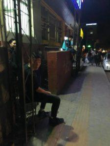 ウランバートルの夜の街に潜入している件