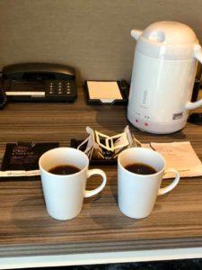 夜明けのモーニングコーヒーを飲む件