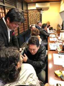 「あの笹間」さんのところで鮨会を開催。  沖縄、福岡、京都、愛知、神奈川、東京。 全国各地から姫路までお越し頂いた件