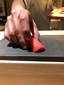 日本橋の不二楼で熟成寿司を頂く件