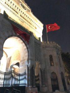 ドーハからイスタンブールに移動している件
