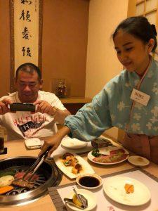 日本のお客様のためにも、違う場所に行ってみたら良い件